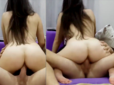 Beautiful Turkish girl getting a proper fuck