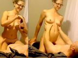 Massage ends up with a nice fuck