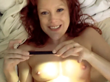 Sexy redhead wife squirting